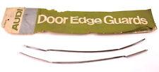 NOS Chrome Door Trim Edge Guard Molding VW Audi Dasher 2 Door - ZAW 165 080