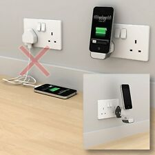 Sans fil Mini Wall Dock Stand Chargeur Adaptateur 30 pin pour Apple iPhone 3gs/4/4s