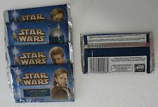 2002 Topps Star Wars Attack of the Clones Trading Cards 5 unopened packs