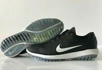 Nike Lunar Control Vapor 2 W Golf Shoes Black White Wide SZ ( 909037-002 )