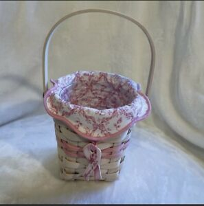 Longaberger Horizon of Hope breast cancer awareness basket