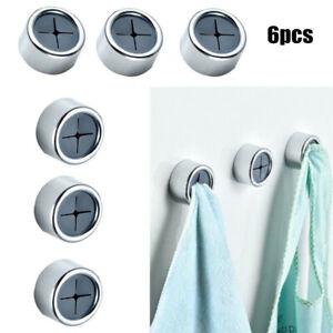 Türhandtuchhalter Geschirrtuchhalter Premium Handtuchhalter Selbstklebend(6 PCS)