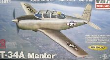 1/48 T-34A Mentor Model Kit by Minicraft Models