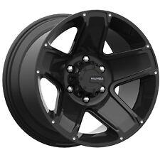 4-NEW Mamba 585B M13 16x8 6x114.3 +13mm Matte Black Wheels Rims