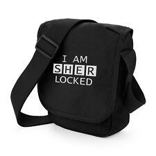 Sherlock Holmes I Am Sherlocked Mini Messenger Shoulder Bag Geeky