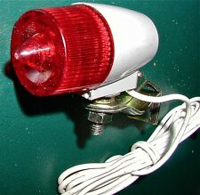 NOS Vintage Bicycle Tail Light for Generator.fits Schwinn & others FREE Ship USA