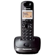 NEW PANASONIC TG2511 DECT SINGLE DIGITAL CORDLESS PHONE BLACK KX-TG2511ET