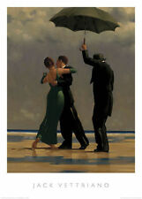 DANCER IN EMERALD da Jack Vettriano stampa di alta qualità 40 x 50cm ORIGINALE 2017 ©
