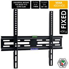 """Delgado de montaje en soporte de pared plana fija de Tv Lcd Led Plasma Para 30"""" -55"""" Ajuste Universal"""
