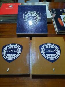 LANCIA CATALOGUE RAISONNE 1907 1983 PRIMA EDIZIONE DUE VOLUMI IN CUSTODIA