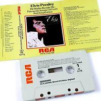 ELVIS PRESLEY HE WALKS BESIDE ME 1978 CASSETTE TAPE ALBUM RCA FAITH INSPIRATION