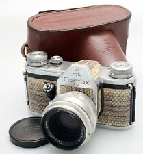 Contax FM 35mm SLR with Carl Zeiss 58mm F2 Biotar Lens. M42 Mount.