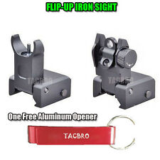 NEW Tactical Flip Up Iron Sight Rear/Front Sight Mount