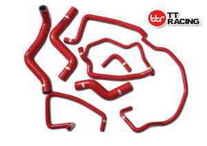 Silicone Radiator Coolant Heater Hose For Mazda RX8 SE3P RX-8 13B-MSP Red