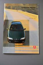 Brochure Citroen Xsara 1998 Hatch & Estate Petrol & Diesel Models