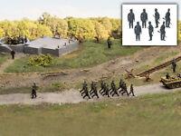 MU N-W00005 - Figuren Soldaten Wehrmacht stehend 7x - Spur N - NEU