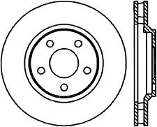 Disc Brake Rotor-Sedan Front Left Stoptech 127.62055L