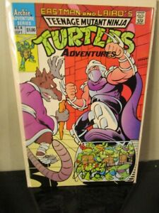 TMNT 4 ARCHIE Teenage Mutant Ninja Turtles SIGNED AUTOGRAPHED Kevin Eastman ~
