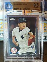 2014 Topps Chrome Masahiro Tanaka #10A RC! BGS 9.5 GEM Yankees!