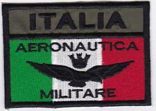 [Patch] BANDIERA AERONAUTICA MILITARE ITALIA cm 7,5 x 5 toppa ricamo -914