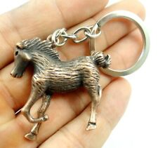 Creative Key Chain Ring Keyring alloy Keychain Gift Tool  horse Pendant D40