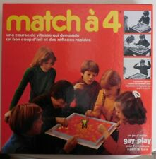 Match à 4, Gay Play, années 70 - Cavahel Vintage