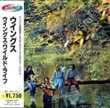 PAUL MCCARTNEY & WINGS WILD LIFE CD MINI LP OBI Beatles Linda Denny Laine new