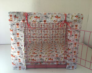 MADE TO MEASURE DOG / PUPPY CRATE / CAGE COVER