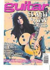 GUNS N' ROSES Slash Guitar star  magazine PHOTO / Poster / Clipping 11x8 inches