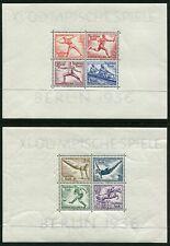 GERMANY - 1936 OLYMPICS Miniature Sheets x2 MNH SG613a Cv £350 [B4046]