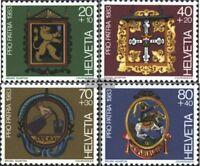 Schweiz 1251-1254 (kompl.Ausg.) gestempelt 1983 Pro Patria