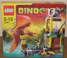 Lego Dino 5883 Pteranodon trampa con figuras, embalaje original y guía 100% completo