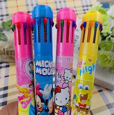 Cartoon Big Hero GR Student AU Special Color Pen 10 color Ballpoint pen