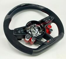 Audi R8 Gen 2 LED Carbon Fibre Steering Wheel - Customisable Options - 2016 V10+