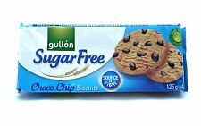 12 x Gullon Sugar Free Choc Chip Cookies Biscuits 125g