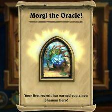 Morgl the Oracle Hearthstone Shaman Murloc Hero