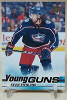 Kevin Stenlund 2019-20 UD SERIES 1 YOUNG GUNS RC SP ROOKIE #211 Blue Jackets