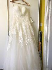 Vestido de Boda Hermoso de Encaje de novia corse