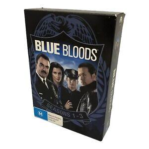 Blue Bloods Season 1-3 DVD Box Set - Region 4, PAL - Good Cond.