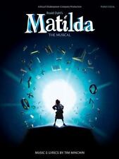 Matilda - the Musical (2013, Paperback) Piano Vocal Selections