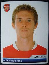 Panini 83 Aleksandr Hleb Arsenal FC UEFA CL 2006/07