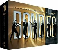 Bond 50 Celebrating 5 Decades of Bond 007. DVD Box Set Sealed NEW