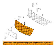 Chevrolet GM OEM 09-11 Aveo5 Front Bumper-Lower Bottom Grille Grill 96813738