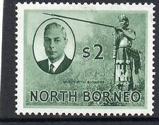Mint Hinged North Bornean Single Stamps