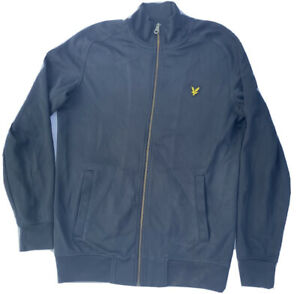 Genuine Lyle and Scott Vintage Jacket Men's Retro Track Tracksuit Top Small £50