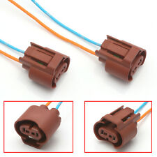 Wire Pigtail Female U 9006 HB4 Two Harness Head Light Low Beam Plug Socket Bulbs