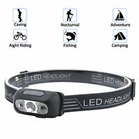 USB Rechargeable LED Headlamp Headlight Head Lamp Torch Flashlight Waterproof
