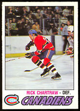 1977 78 OPC O PEE CHEE #363 RICK CHARTRAW NM MONTREAL CANADIENS HOCKEY CARD