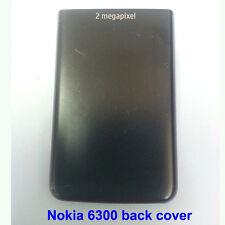 100% Genuine Original Nokia 6300, 6300i Back Battery Cover Fascia Housing -Black