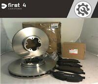BRAND NEW GENUINE FORD TRANSIT MK8 2014 > FRONT BRAKE DISCS & PAD SET